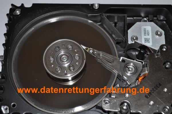 Festplatte Oberfläche zerstört