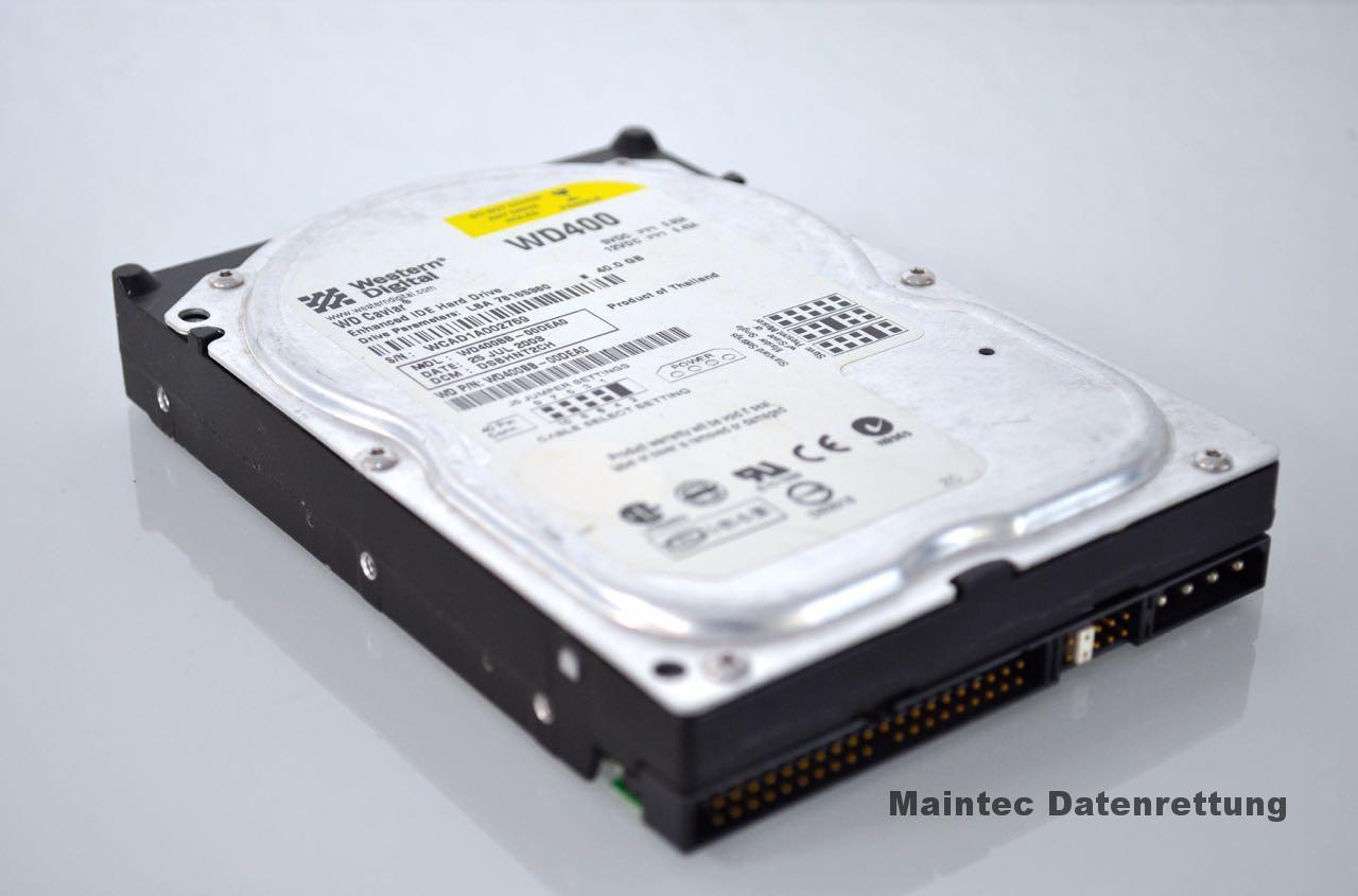 Festplatte zur Datenrettung