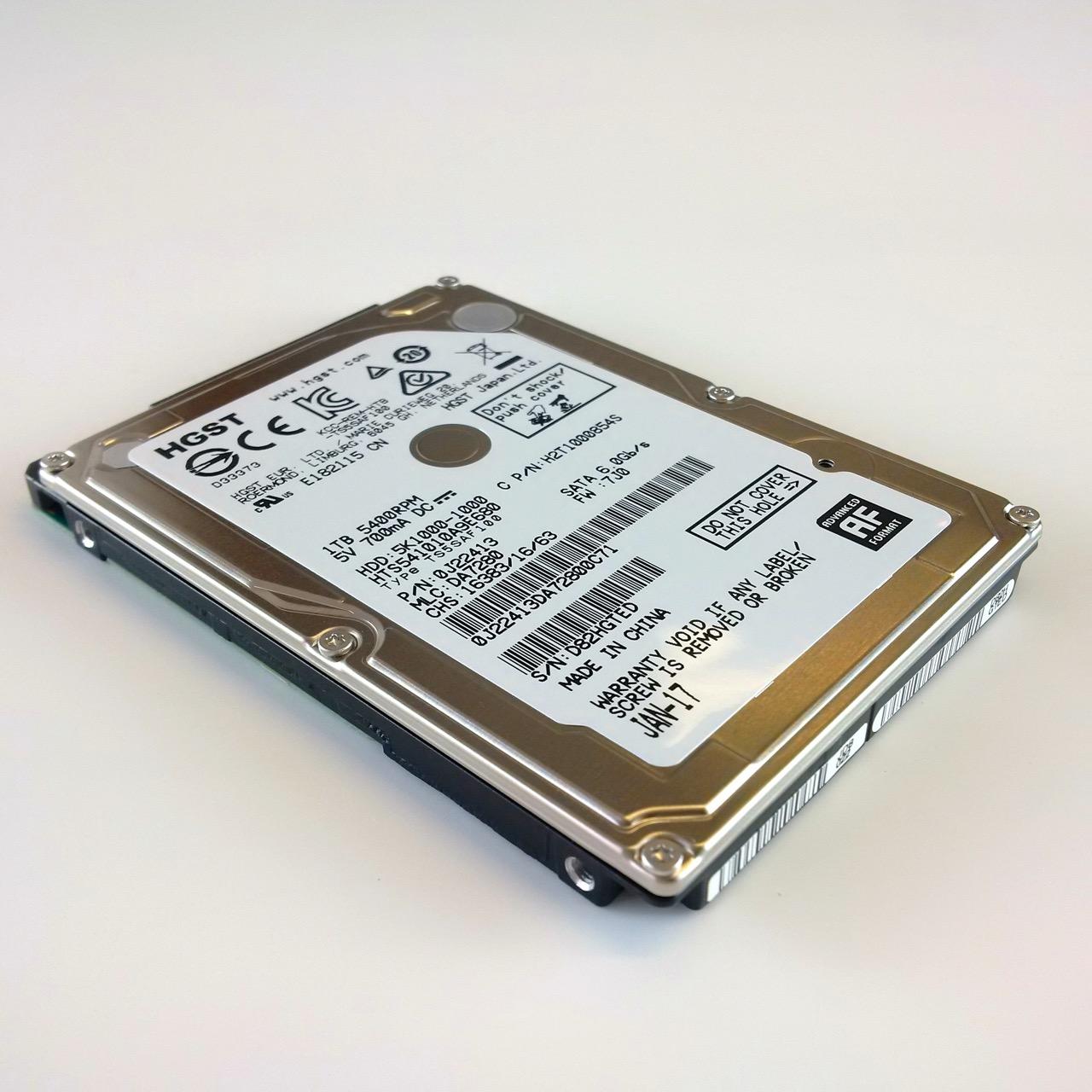 Harddisk for free. Kostenlose Festplatte