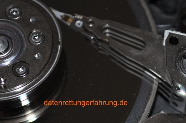 Festplatte nach Sturz, Schlag. Datenrettung möglich ? Teil 2.